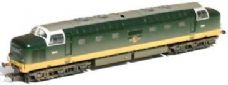 Bachmann Class 55 'The Green Howards' 55008 BR Two Tone Green Exclusive Lightly Weathered